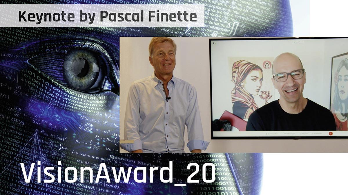 VisionAward_20 - Keynote von Pascal Finette (in English)